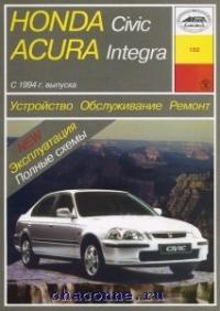 Руководство Honda Civic,Acura Integra с 94 г